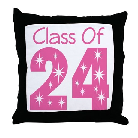 Class of 2024 Gift Throw Pillow