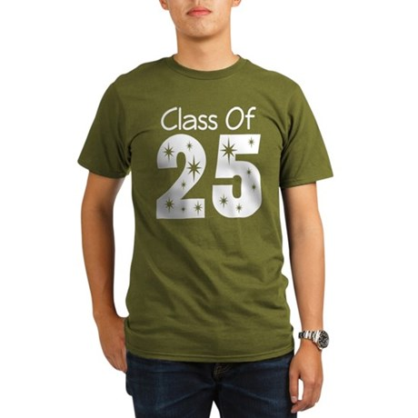 Class of 2025 Gift Organic Men's T-Shirt (dark)