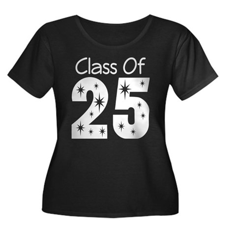 Class of 2025 Gift Women's Plus Size Scoop Neck Da