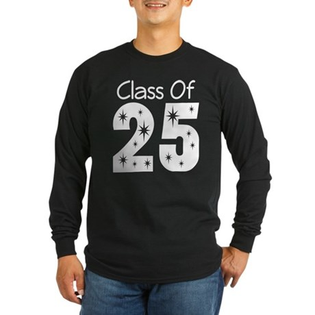 Class of 2025 Gift Long Sleeve Dark T-Shirt
