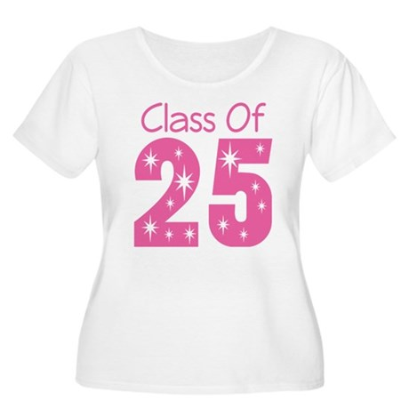 Class of 2025 Gift Women's Plus Size Scoop Neck T-