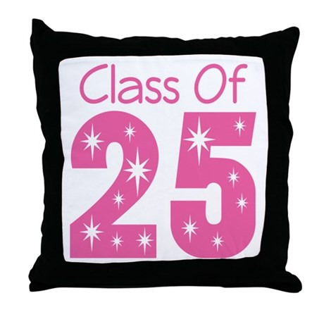 Class of 2025 Gift Throw Pillow
