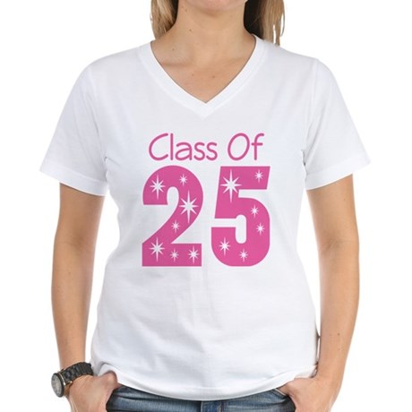Class of 2025 Gift Women's V-Neck T-Shirt
