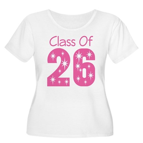 Class of 2026 Gift Women's Plus Size Scoop Neck T-