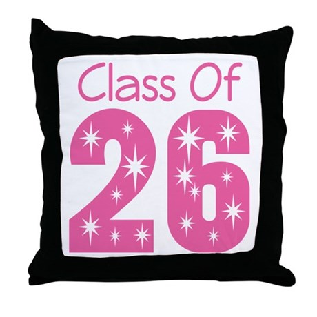 Class of 2026 Gift Throw Pillow