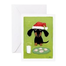 Doxie Clause Greeting Cards (Pk of 20)
