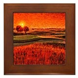Monet Framed Tiles
