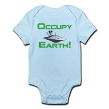 Occupy Earth! Infant Bodysuit