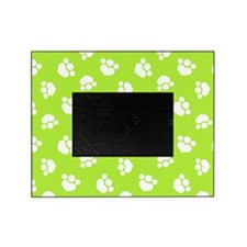 Paw Print Hearts Olive Picture Frame