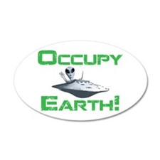 Occupy Earth! Wall Decal