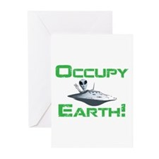 Occupy Earth! Greeting Cards (Pk of 10)