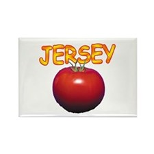 Jersey Tomatoe Rectangle Magnet