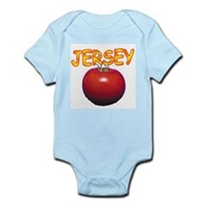 Jersey Tomatoe Infant Creeper