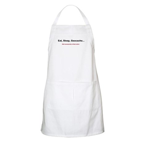 Eat, Sleep, Geocache... Apron