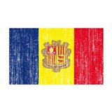 Andorra Flag Wall Decal