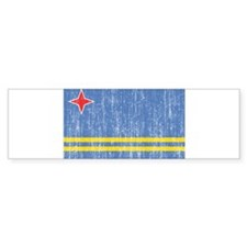 Aruba Flag Bumper Sticker