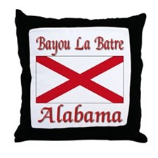 Bayou La Batre Alabama Throw Pillow