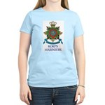 Royal Dutch Marines Women's Pink T-Shirt