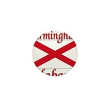 Birmingham Alabama Mini Button (10 pack)