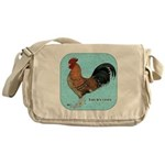 Tournaisis Rooster Messenger Bag