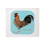 Tournaisis Rooster Throw Blanket