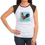 Tournaisis Rooster Women's Cap Sleeve T-Shirt