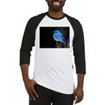 Mountain Blue Bird Baseball Jersey