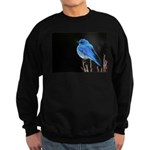 Mountain Blue Bird Sweatshirt (dark)