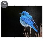 Mountain Blue Bird Puzzle