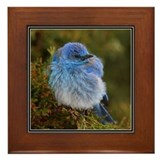 Mountain Blue Framed Tile