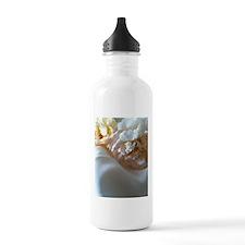 Flower Bed copy.jpg Sports Water Bottle