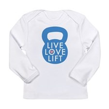 Blue Live Love Lift Long Sleeve Infant T-Shirt