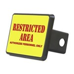 Restricted Area Rectangular Hitch Cover