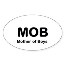 Mother of Boys Decal
