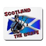 Scotland the brave Mousepad