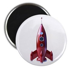 "rocketship 2.25"" Magnet (10 pack)"