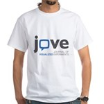 JoVE - Logo White T-Shirt