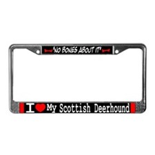 NB_Scottish Deerhound License Plate Frame