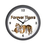 Unique Save the tigers Wall Clock