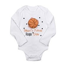 Funny Future star Long Sleeve Infant Bodysuit
