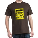 Accident Prone Black Belt T-Shirt
