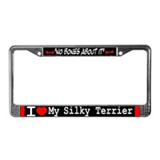 NB_Silky Terrier License Plate Frame