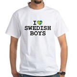 I Heart Swedish Boys Shirt