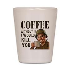 CoffeeKill.png Shot Glass