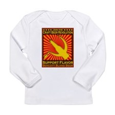 HazMatBeer3.png Long Sleeve Infant T-Shirt