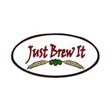 JustBrewIt-White Patches