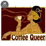 Nouveau Coffee Queen Puzzle