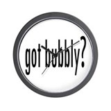 gotBubbly.png Wall Clock