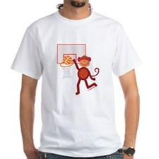 Monkey at Basketball Shirt
