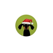 Doxie Clause Mini Button (100 pack)